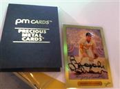 PM CARDS Baseball CARDS 24K BASEBALL CARD